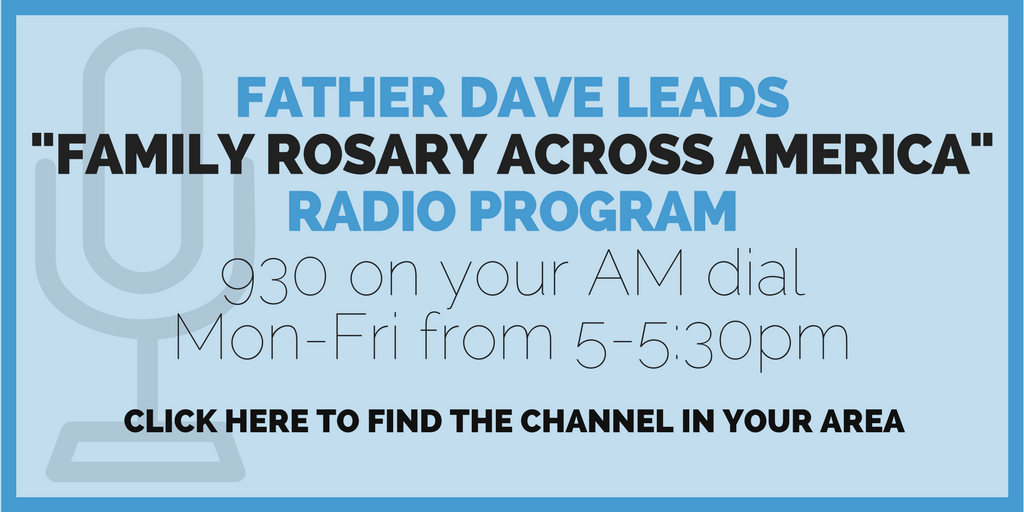 Father Dave Heney Rosary on Radio
