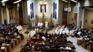 Fr. Dave at Fr. Joe Funeral