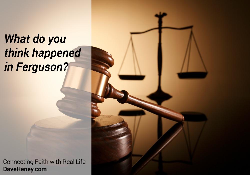 The Ferguson Grand Jury Decision