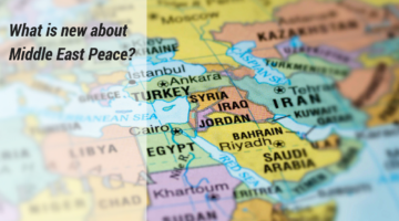[SPECIAL] What is new about Middle East Peace?